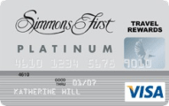Simmons Rewards Platinum Visa