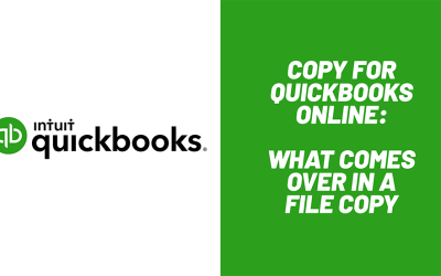 What QuickBooks Online Files Can and Cannot be Copied in File Migration