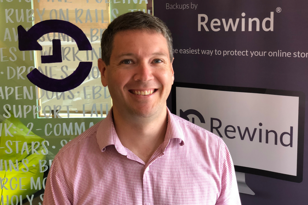 Meet the team: Mike Potter, CEO and Co-founder of Rewind