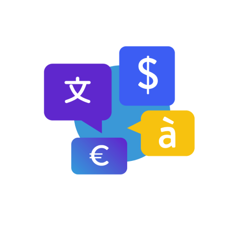 Add currencies & languages
