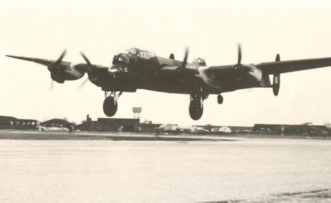 A second world war aircraft in flight