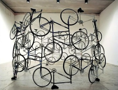 Ai Weiwei: The Art of Truth: In this image the artist has utilised the object