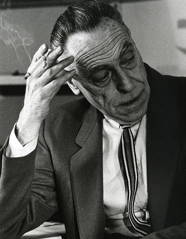 portrait of Achille Castiglioni