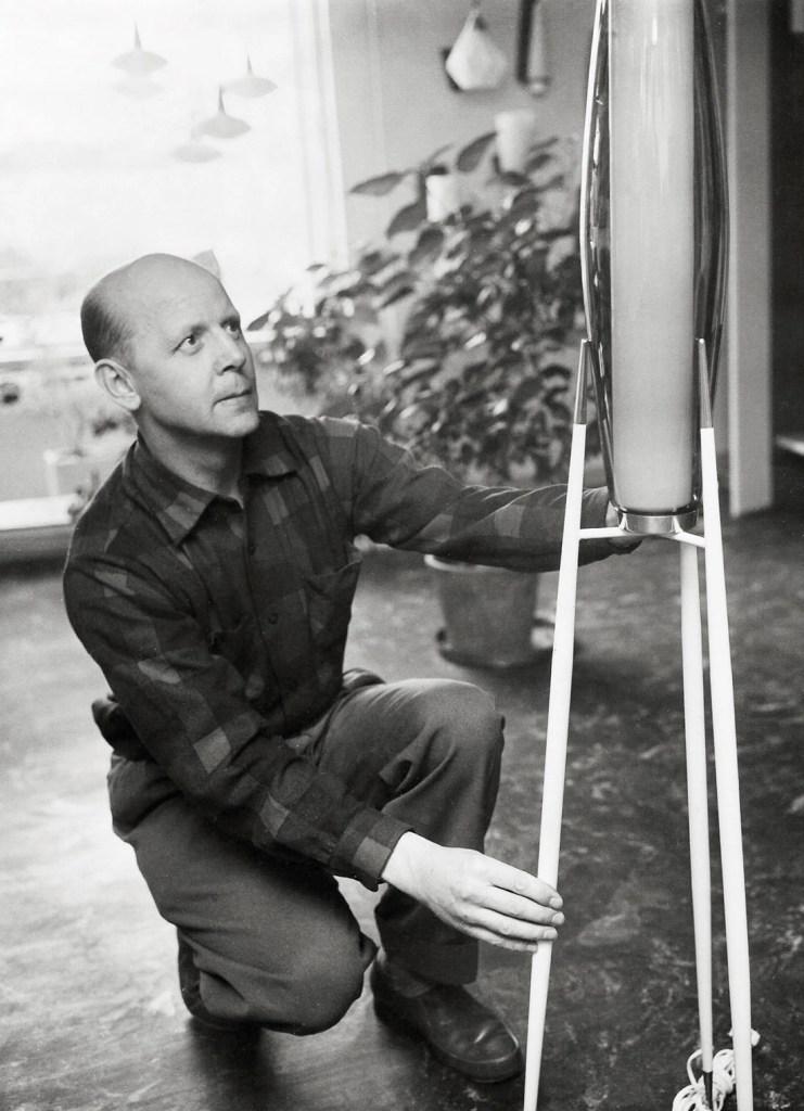 portrait of Svend Aage Holm-Sørensen