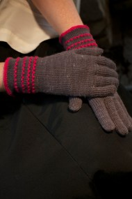 Rio Gloves in Wollfarm Sockenwolle: Long cuff version