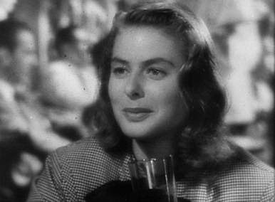 "Ingrid Bergman as Alicia Huberman in ""Notorious"""