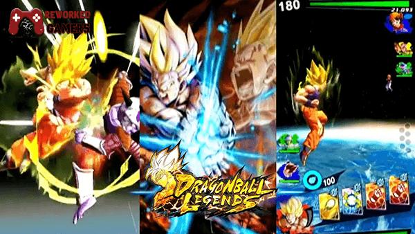 Dragon Ball Legends PC Screen