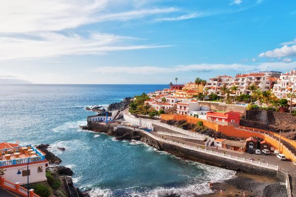 Meleg tengerpart ősszel - Tenerife