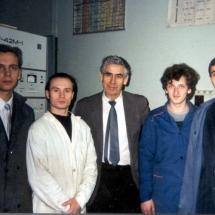 В. Малий з студентами та випускниками факультету, 2003 р.