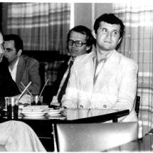 Святкування 10-річчя кафедри, 1982 р.