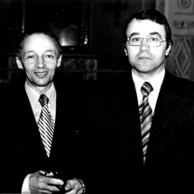 А. Гуревич, Г. Мелков. Семінар по спінових хвилях (Санкт-Петербург), 1984 р.