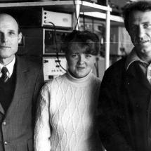 Ю. Нечипорук, Б. Журиленко, лабораторія функціональної магнітної електроніки, 80-ті роки ХХ ст.