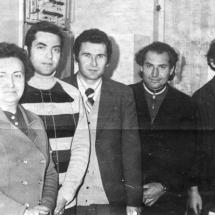 Співробітники лабораторії радіоспектроскопії, 60-ті роки ХХ ст.