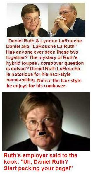 Daniel Ruth & Elaine Silvestrini Newspaper News