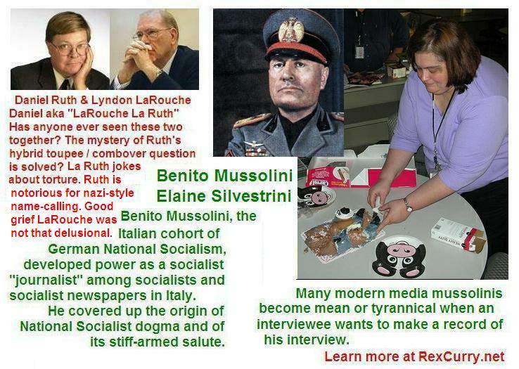 Elaine Silvestrini & Benito Mussolini