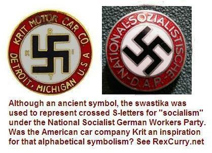 Krit Motor Car Company Swastika Kenneth Crittenden