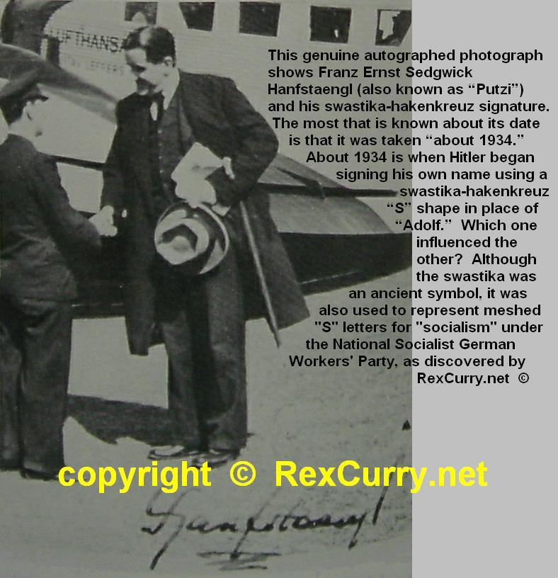Ernst Hanfstaengl Franz Sedgwick Adolf Hitler Nazism National Socialism