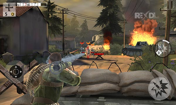 Brothers in Arms 3 1.5.2a Apk + MOD (VIP) + Data for Android