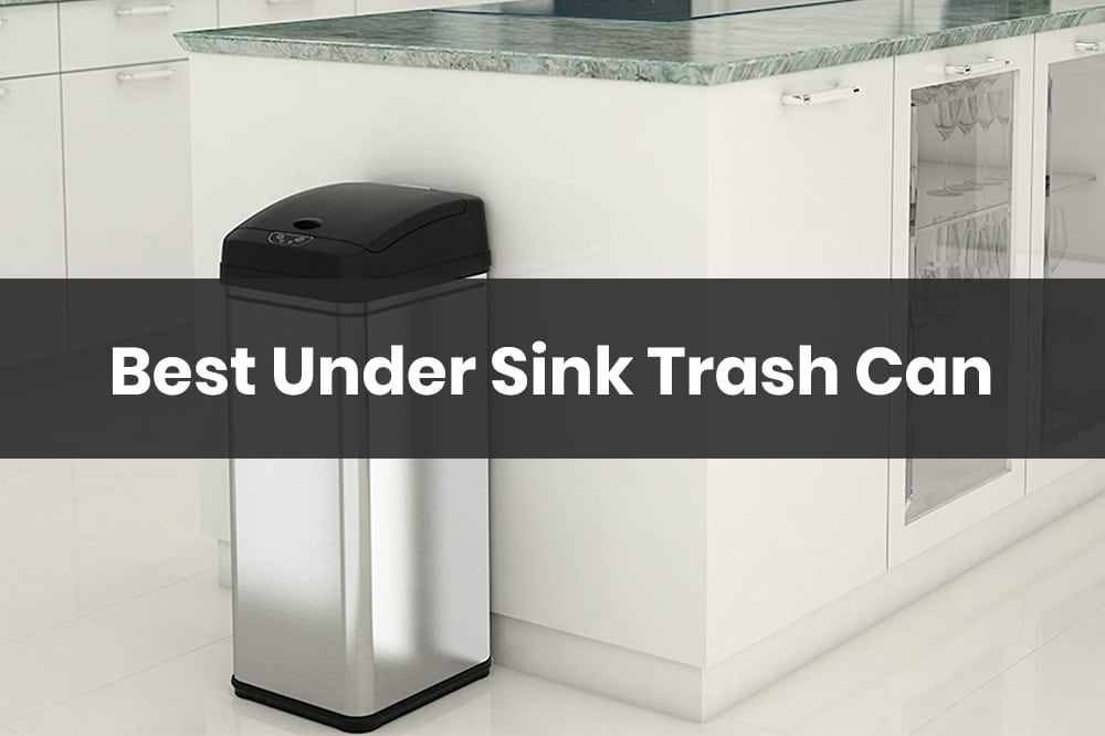 best under sink trash can for your kitchen
