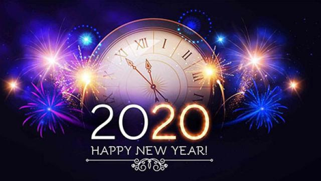Wallpaper Happy New Year 2020