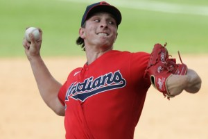 How will the Cleveland Indians replace Brad Hand?