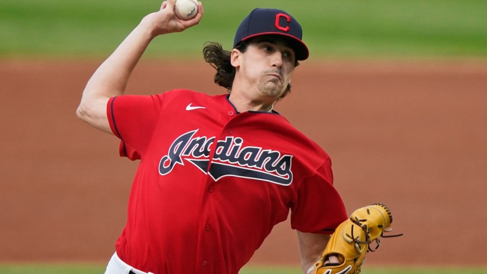 How will the Cleveland Indians replace Carlos Carrasco?