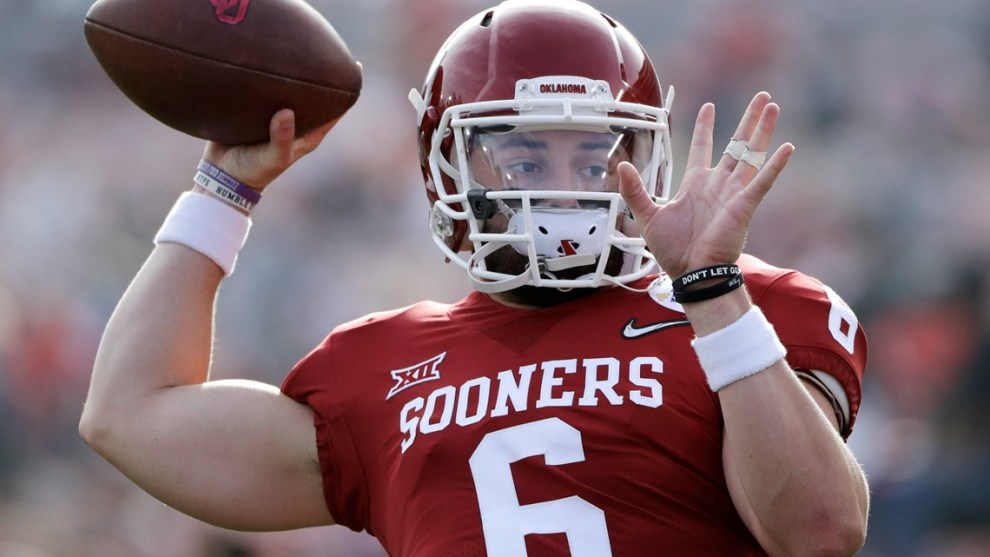 ESPN ranks Baker Mayfield as No. 1 college quarterback of 2000s