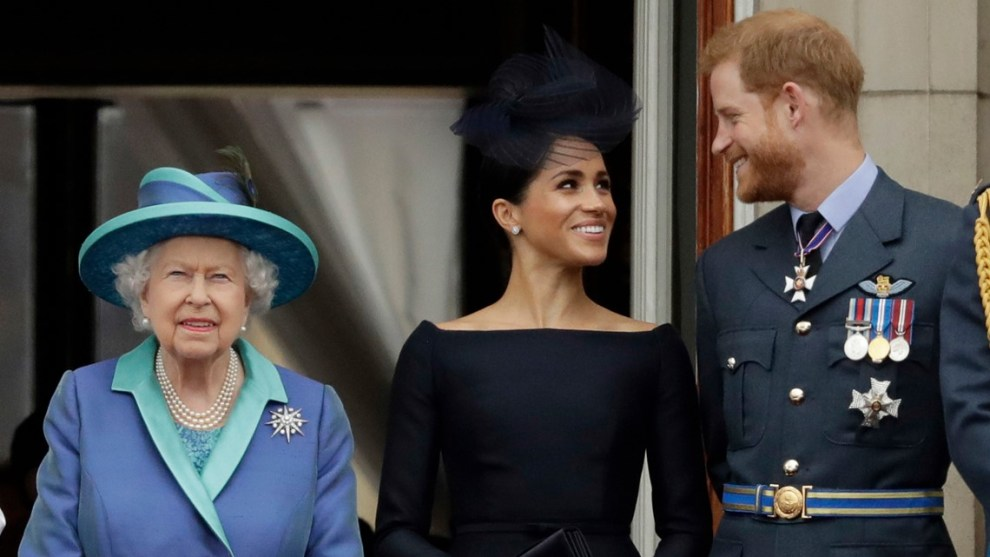 Harry and Meghan won