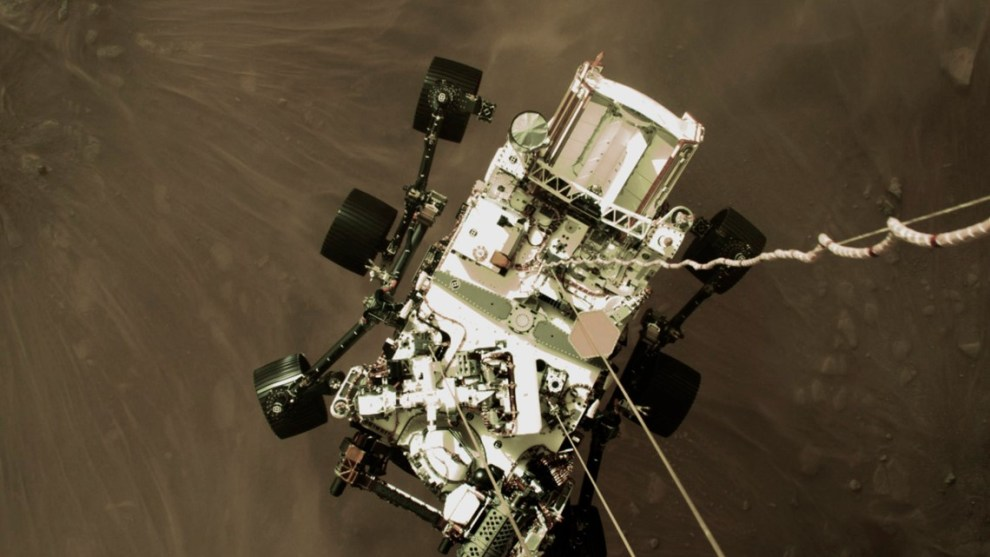New images released as Mars Perseverance rover gathers new data on the red planet