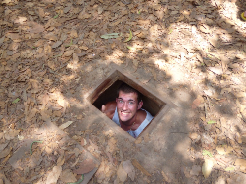 Trapped in the Cu Chi Tunnels…