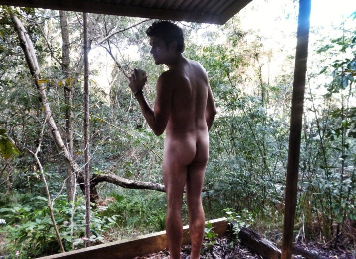 Naked Travel Blogger