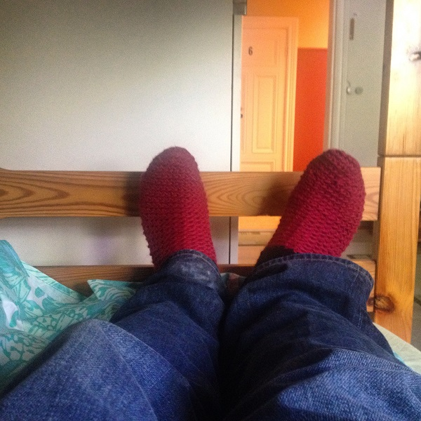 1. Setting foot into Porvoo, you'll find yourself pulling on a pair of their locally made woollen socks to keep your toes roasting warm!