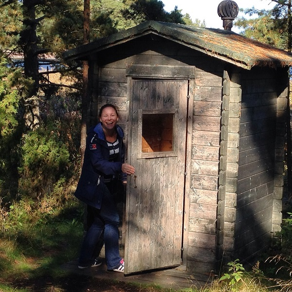37. The outdoor toilets on the islands of Pellinki Archipelago is certainly an experience...find out for yourself!