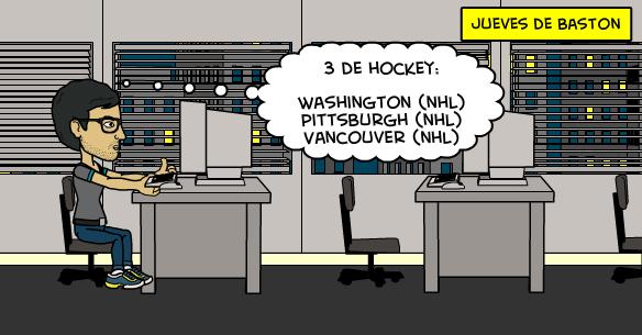26-3-2015 |Jueves de bastón con NHL