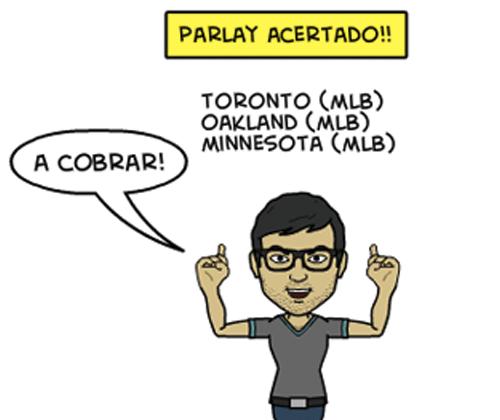 Parlay dominical ¡Acertado!