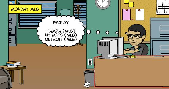 20-7-2015   Parlay Monday MLB