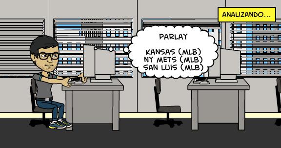5-8-2015 | Parlay de miércoles MLB