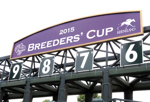 31-10-2015  Pronósticos Breeder's Cup 2015