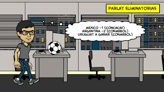 29-3-2016   Parlay Eliminatorias Mundial 2018