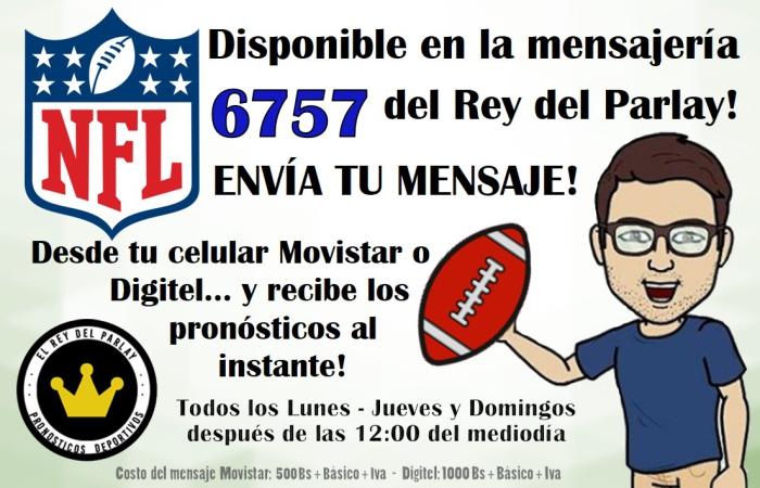 LOGROS NFL MENSAJERIA VENEZUELA DE TEXTO FUTBOL AMERICANO