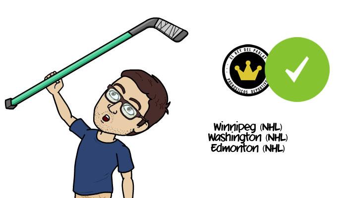 ¡Acertado! Parlay gratis de NHL