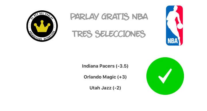 Parlay de NBA ¡Acertado!