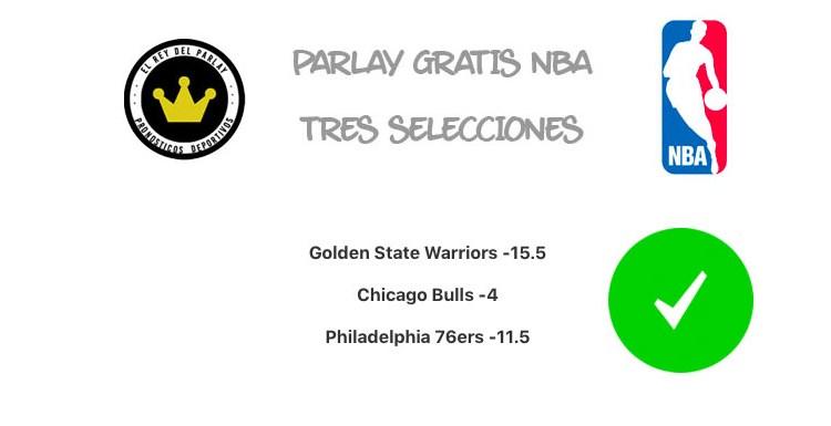 Parlay de NBA acertado ¡Point Guard del día!