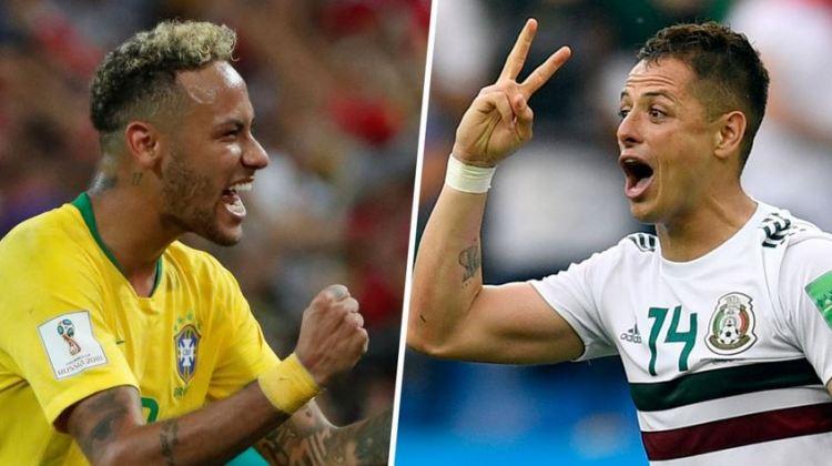 México vs. Brasil | 8vos. de final Mundial Rusia 2018 | 2-7-2018
