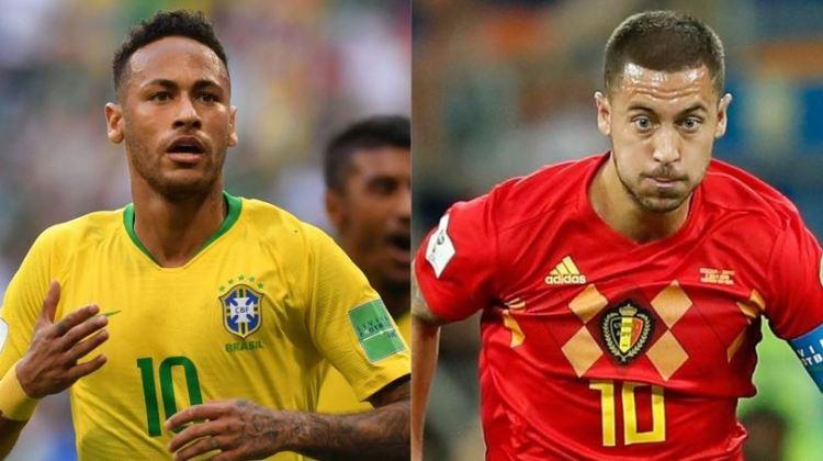 Brasil vs. Bélgica | 4tos. de final Mundial Rusia 2018 | 6-7-2018