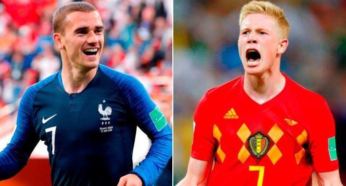 Francia vs. Bélgica | Semifinal Mundial Rusia 2018 | 10-7-2018