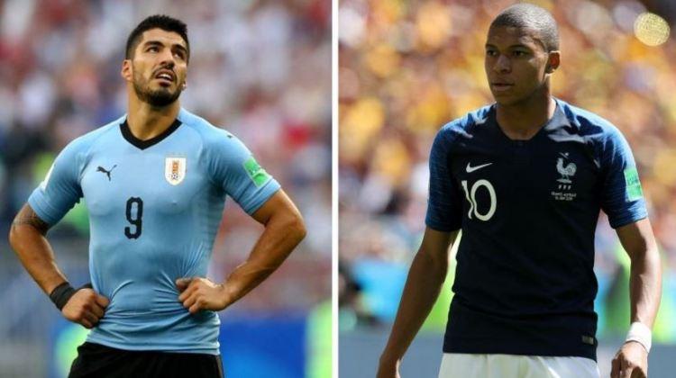Uruguay vs. Francia | 4tos. de final Mundial Rusia 2018 | 6-7-2018