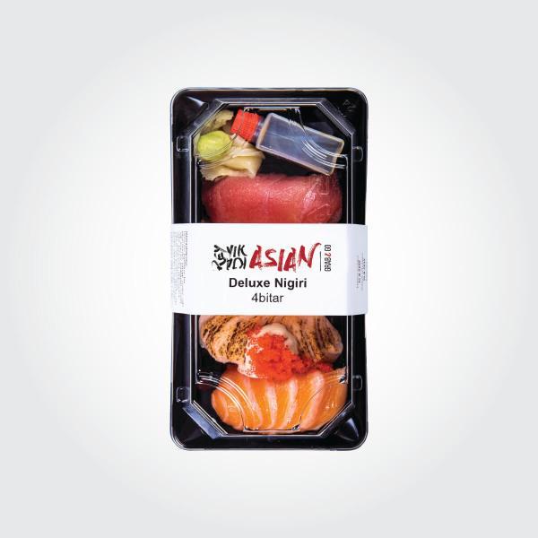 Deluxe Nigiri - 4 bitar - Reykjavík Asian