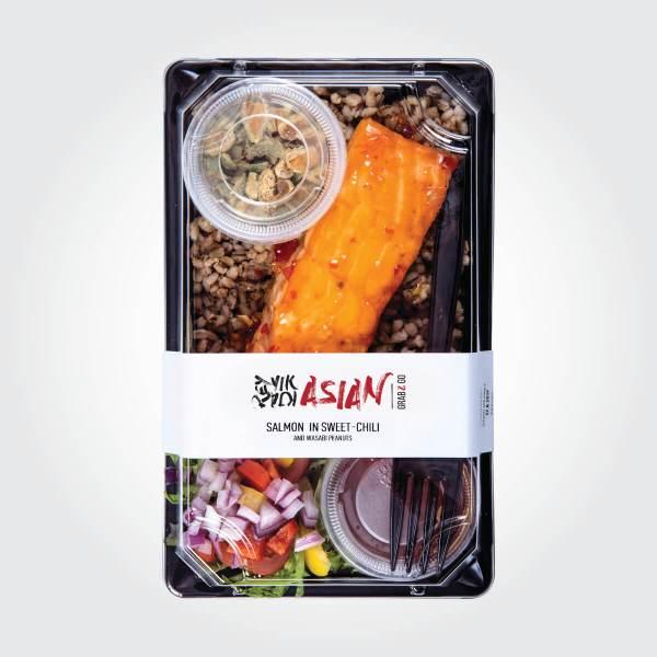 Sweet chili salmon - Reykjavík Asian