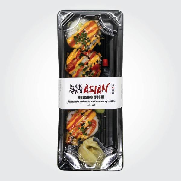 Volcano Sushi - 4 bitar - Reykjavík Asian
